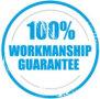 100% workmanhsip guarantee