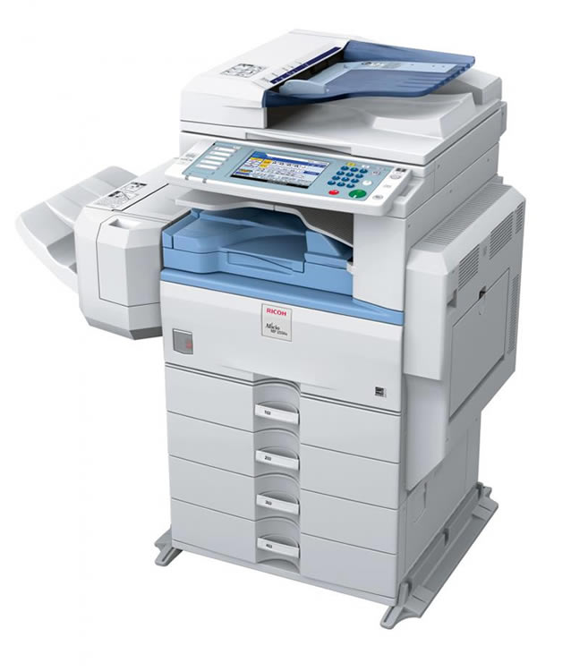 Ricoh Aficio C3000 multifunction colour printer scanner copier