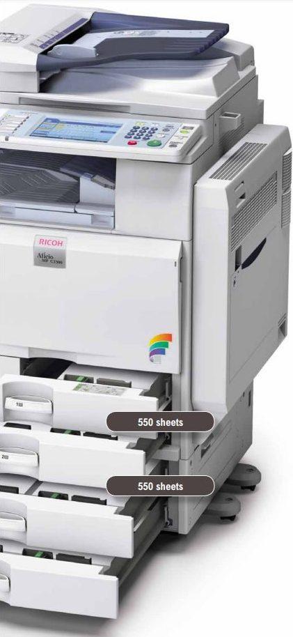 Ricoh Aficio MP C2800/C3300 Colour Printer